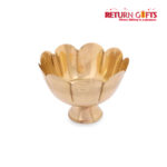 Brass Flower Bowl (Sandhanam Cup)